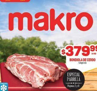 Oferta de Bondiola de cerdo por $379,99