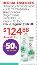 Oferta de Shampoo Herbal Essence por