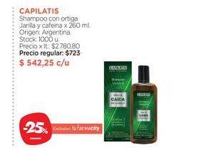 Oferta de Shampoo anticaída Capilatis por