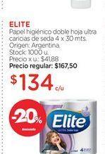 Oferta de Papel higiénico Elite por