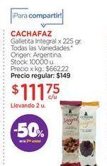 Oferta de Galletas Cachafaz por