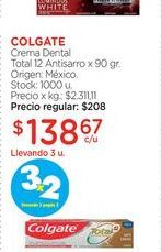 Oferta de Crema dental Colgate por