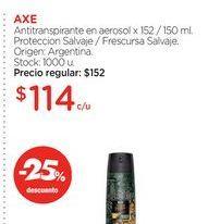 Oferta de Desodorante spray Axe por