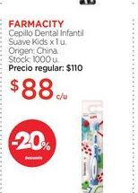 Oferta de Cepillo dental farmacity por