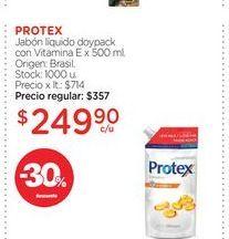 Oferta de Jabón líquido Protex por