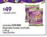 Oferta de Caramelos Flynn Paff 144gr  por $49