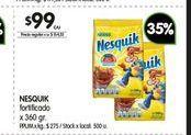 Oferta de Cacao en polvo Nesquik 350gr  por $99