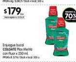 Oferta de Enjuague bucal Colgate 250ml  por $179