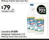Oferta de Lavandina antisplash 2lt Ayudin por $79