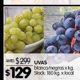 Oferta de Uvas por $129