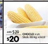 Oferta de Choclo por $20