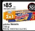 Oferta de Galletitas Traviata 505gr  por $85