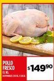 Oferta de Pollo fresco por $149,9