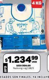 Oferta de Queso crema Aro  por $1234,99