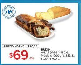 Oferta de Budín por $69