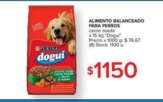 Oferta de Alimento balanceado para perros dogui 15kg por $1150
