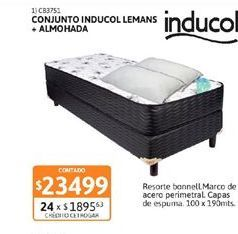Oferta de Onjunto inducol + almohada  por $23499