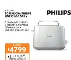Oferta de Tostadora Philips por $4799