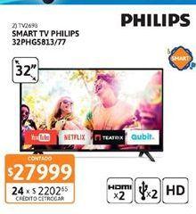 Oferta de Smart tv Philips por $27999