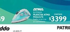 Oferta de Plancha Atma por $3399