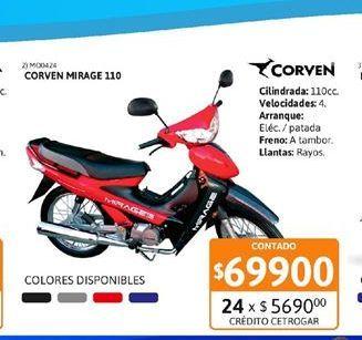 Oferta de Motos Corven por $69900