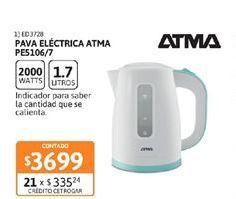 Oferta de Pava electrica Atma por $3699