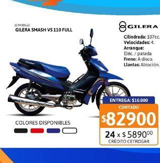 Oferta de Motos Gilera por $82900