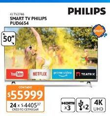 Oferta de Smart tv Philips por