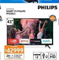 Oferta de Smart tv Philips por $42999