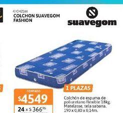 Oferta de Colchón Suavegom por $4549