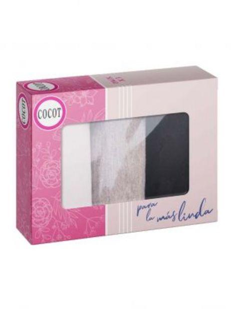 Oferta de Vedetina algodon Lycra pack x 3 - Art. 5600.3 por $1325