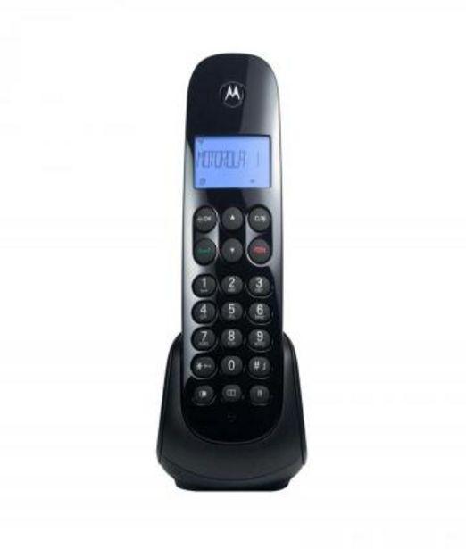Oferta de TELEFONO INALAMBRICO M700 NEGRO  por $4099