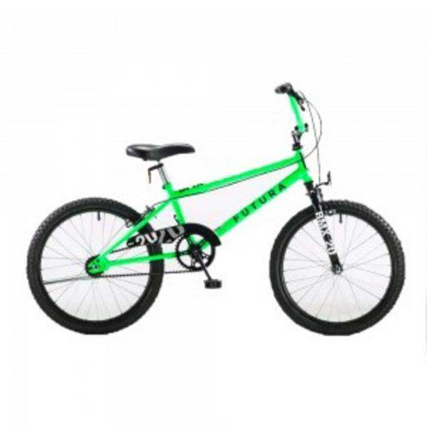 Oferta de BICICLETA FUTURA BMX RODADO 20 RACER KIDS por $27999