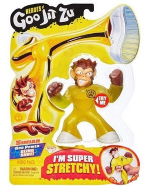 Oferta de Heroes Of Goo Jit Zu Muñeco Figura Super Flexible 12 Cm por $2299