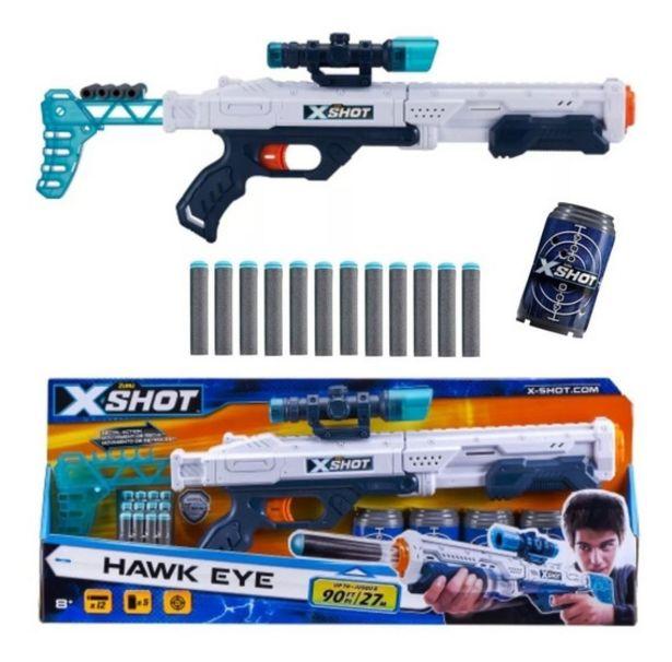 Oferta de Rifle Escoera Armas Zuru X-shot 1186 Hawk Eye Creciendo por $2999