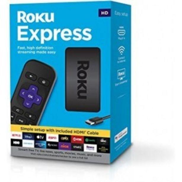 Oferta de ROKU EXPRESS TRANSMISOR SMART 3930R MEDIA PLAYER por $6269