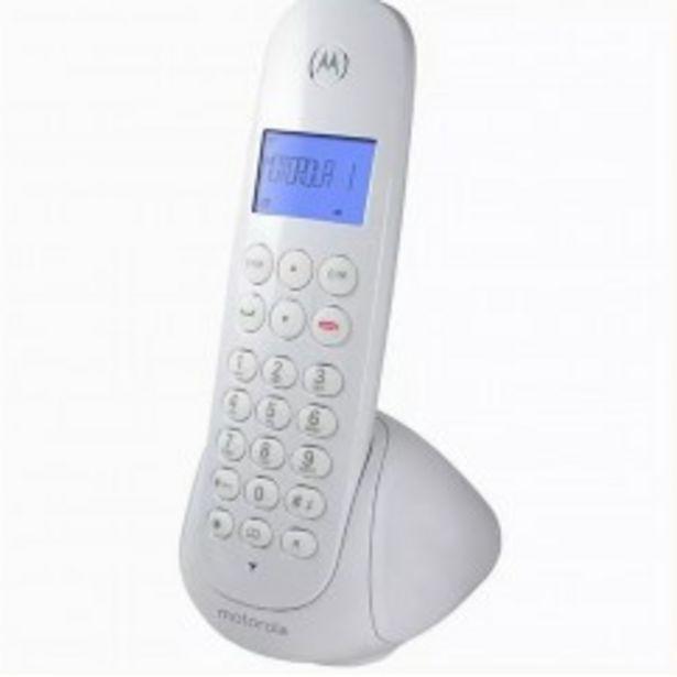 Oferta de MOTOROLA TELEFONO INALAMBRICO M700W DECT por $3869