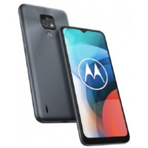 Oferta de MOTOROLA TELEFONO CELULAR XT2095-1 E7 GRIS MINERAL AR 2+32 por $21999