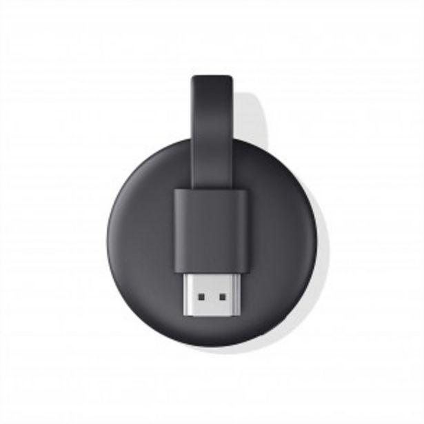 Oferta de CHROMECAST 3RD GEN NEW GOOGLE WI-FI   HDMI   1080P   USB por $7409