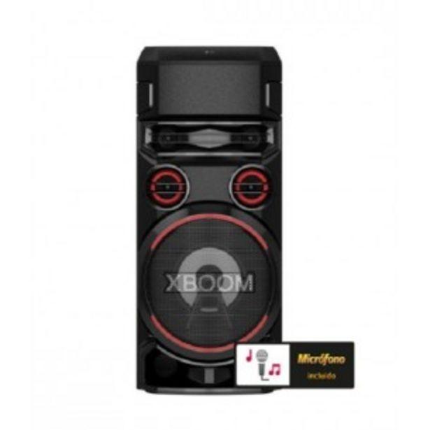 Oferta de LG SISTEMA DE AUDIO TORRE RN7 BLUETOOTH USB AUX FM por $68419