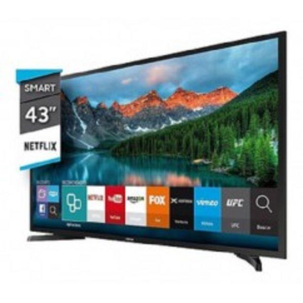 "Oferta de SAMSUNG LED TV 43"" UN43TU7000GCZB SMART UHD HDMI USB SINTONIZADOR TDA por $56319"
