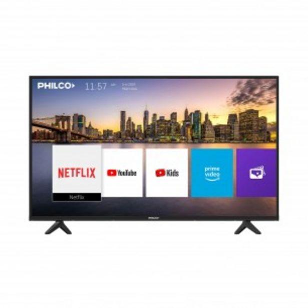 "Oferta de PHILCO SMART TV LED 43"" PLD43FSC9 FHD HDMI USB TDA por $38999"