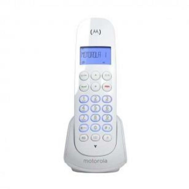 Oferta de Telefono Inalambrico Motorola M700 Blanco por $3999