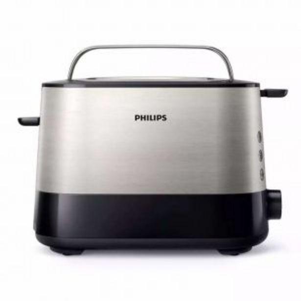 Oferta de Tostador Philips HD2637/90 2 ranuras por $6899