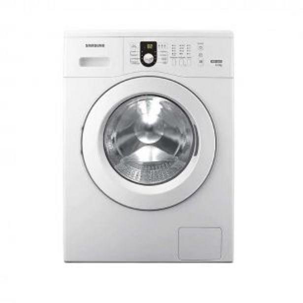 Oferta de Lavarropas Samsung 6,5 Kg WW65M0NHWU Blanco con Control de Voltaje por $66409