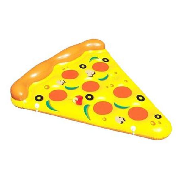 Oferta de Colchoneta Inflable Pizza Gigante Descansar por $1999
