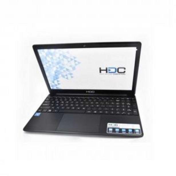 "Oferta de Notebook HDC HY15-I3-8256 15.6"" 8GB 256 GB por $85999"