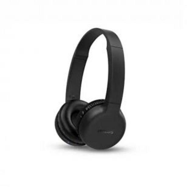 Oferta de Auriculares inalámbricos con vincha Philips TAH1205BK/00 por $2799