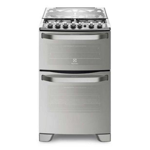 Oferta de Cocina Doble Horno Electrolux Superior Eléctrico y Gas 56DXQ por $102999