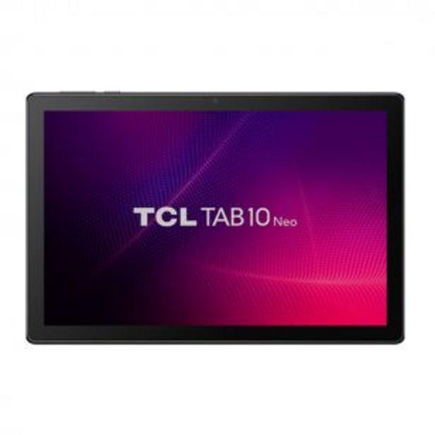 Oferta de Tablet TCL Tab10 Neo 10 Pulgadas 2Gb Ram 32Gb Rom Negra por $16999